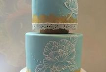 Wedding Cakes / Being a cake artist I am always searching for breath taking compositions in the world of edible art! / by Anita Algiene