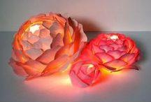 Crafty Me / DIY adorable creative unique fun science experiment craft art paper paint yarn