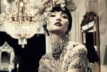 Fancy Shmancy / brand name, elegant, expensive, fancy, formal, dress, gown, vintage, dior, chanel, lace, black, white, nude, cream, red, royal, blue, hot, sexy, beautiful, gorgeous, pretty