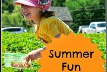 Seasonal Kids - Summer Fun for the Family / Summertime .... at last! #play #crafts #recipes #outdoors #travel #family #kids #holidays #Canada Day #FourthofJuly