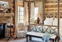 Lodge/mountain house ideas / by The Enchanted Home