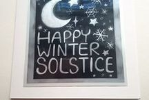 For the Holidaze / A collection of my art, greeting cards, and other holiday stuff by others!