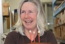 Beeswax Birthday Candles / Non-toxic beeswax birthday candles - Hand dipped and Made in Canada