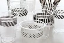 Prettify Your Plastics / With some simple DIY tips you can really spruce up plastic tableware, drinkware and cutlery!