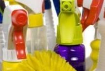 cleaning / by Diane Sandlin-Kinkaid