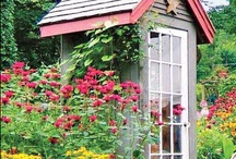 ~ Garden: Sheds & Work Spaces ~ / A shed doesn't have to be ugly. Check out these great work spaces.