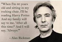 ALWAYS... Harry Potter / by Julie Horner-Amegashie