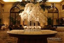 Reception Crystals and More Decor / Stunning centerpiece and table design inspirations can be found on this board for any type of event you may be hosting...weddings, corporate, family, birthdays, etc. / by Kimera, LLC Wedding & Event Planning