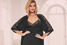 Rosie For Autograph / Our exclusive design collaboration with Rosie Huntington-Whiteley showcases nightwear, bras, knickers and lingerie sets made from beautiful French-designed lace, sumptuous silk and the softest silk chiffon in feminine prints and vintage-inspired tones. http://bit.ly/1FtcdhR / by M&S