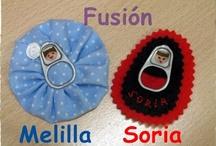 MIS CREACIONES CON ANILLAS / by Manualidades con Huella