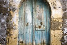 Charming Doors, Windows & Pottery / If charming doors, rustic entries & European charm intrigue you, this board is for you! Old, worn and gorgeous! Rustic | Doors | Windows | Shutters | European