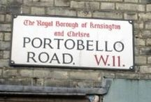 Portobello/ urban landscape / Inspiration board of portobello road/ markets/ urban landscapes/ streets