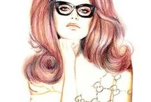 Fashion Illustrations / by Sarah Jolley