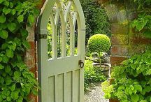 Gardens | Birds & Butterflies / Secret garden. Garden gates. Cottage garden | Nature | Birds & Butterflies