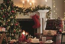 Christmas at Home / From the perfect Christmas cocktail to seasonal decor that makes your home look its festive best, we have everything you need. http://bit.ly/1Mg1ICo