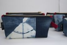 Pam Glew - Products / Homewares, Bags, Pouches, Purses etc  Made in the Pam Glew Studio, Brighton, UK