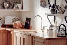 Kitchen / Create your perfect kitchen... We've got everything you need to cook up a storm, from stylish kitchen units and sideboards, kitchen accessories to handy pots and pans! http://bit.ly/1KdKMvl / by M&S