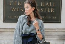 London Street Style / Take inspiration from London street style as seen on the capital's stylish women in London Fashion Week. Discover the M&S Limited London collection > http://bit.ly/1KNyf6G / by M&S