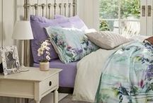 Spring Blooms / Inject some florals into your home decor with natural materials, full-blown floral prints, embroidered finishes and decorative glassware - bring the outdoors in! http://bit.ly/1BKvKtI / by M&S