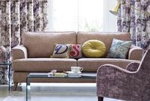 Living Room / Give your living space a new look with our stylish furniture and accessories, from sofas and coffee tables to cushions and curtains. http://bit.ly/1HXAHWH / by M&S