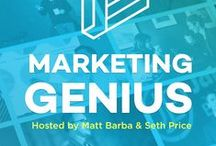 Placester's Marketing Genius Real Estate Podcast / See the latest insights from the most brilliant minds in real estate featured on Placester's Marketing Genius Real Estate Podcast hosted by Matt Barba & Seth Price.
