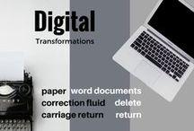 Digital Transformations / Tracking digital technologies that transform the world around us, especially on Throwback Thursdays!