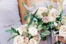 Wedding Flowers. / Wedding flower and bouquet inspiration for brides with a romantic, whimsical style.
