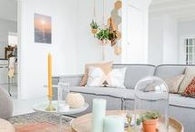 My Dream Home. / Home design inspiration with chic, feminine style.