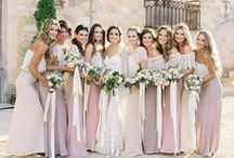 Bridesmaid Style. / Bridesmaids dresses for inspiration.
