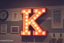 """""""K"""" / by Kimberly Green Gonzalez"""