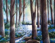 Between 2 Ponds Art Studio / All art is authored by Denise T. Armstrong  All Rights Reserved 2009 Copyrighted 2009