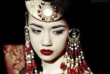 Prints & Inspiration / Influence of colors, textures & oriental touch...