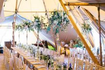 INSPIRATION ~ Tipi Style / Beautiful ideas to style your Tipikata tipi for your wedding!