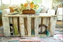 Pallet Creations. / by Abby Dieter