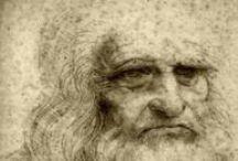 Art - Leonardo / Dedicated to Leonardo da Vinci / by Denise Greenberg