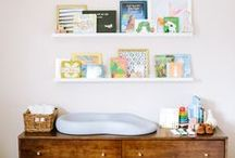 nesting. / my nesting board in a nutshell = classic children's decor with an eclectic + colorful twist. (all images linked to original source)