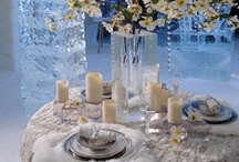 Winter Weddings / Winter weddings are so classic. Gather some ideas for your winter wonderland wedding ranging from the dinnerware to the dress! Don't forget to visit our bridal registry checklist page for more ideas at www.laterrinedirect.com. / by la Terrine