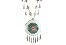 Dazzling Necklaces / Don't forget to cover you neck this season! Miriam Salat Dazzling necklaces will complement any look for you!