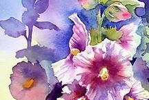 Watercolor / Mixed Media / by Ellen Millar