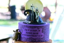Halloween Cakes & Toppers