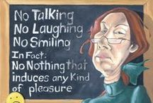 Teachers Lounge / Teacher humor, dark and otherwise. / by Denise Greenberg