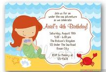 Briannie's 3rd Birthday_Little Mermaid / Birthday Party Planning - 3rd Birthday / by Jenise B