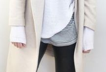 Layered // Fall Style / It's almost that time of the year again. Chic, modern Fall layers! / by Kate Ogata