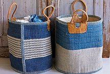 Beautiful Basketry / Baskets for decor, organization, & gardens.