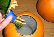Autumn-Thanksgiving-Halloween / Autumn, Thanksgiving & Halloween - food, crafts, home decor, party decorations