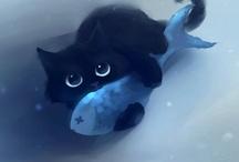 Art: Cats / art & illustrations of cats