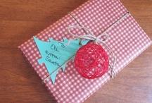 Christmas...and gift wrapping ideas! / Christmas...and gift wrapping ideas!