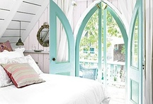Doors, Windows and ROOMS... oh my! / Beautiful doors, windows, shutters and rooms that house them. / by Marisa Doan