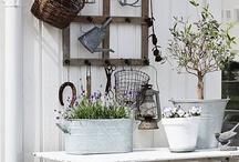 HOME: Garden Living / Home decor: Spaces in the garden
