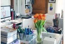 HOME: Studios & Workspaces / Home Decor: studio & work spaces